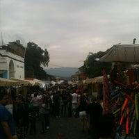 Foto tirada no(a) Mercado Artesanal de Tepoztlán por Javier D. em 11/3/2012