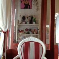 Photo taken at Café des Fleurs by Gil C. on 3/9/2013