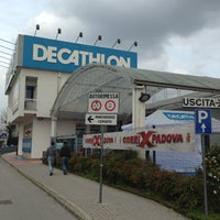 Photo taken at Decathlon Padova by Samuel S. on 4/11/2013