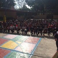 Photo taken at Jardin De Niños Itzcalli by Jessica G. on 8/26/2014
