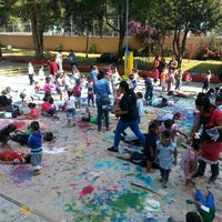 Photo taken at Jardin De Niños Itzcalli by Jessica G. on 9/9/2015
