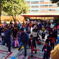 Photo taken at Jardin De Niños Itzcalli by Jessica G. on 3/27/2014