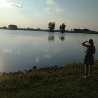 Photo taken at Lake Petocka by Aaron W. on 7/4/2013