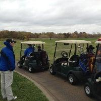 Photo taken at Tiffany Greens Golf Club by Aaron W. on 10/19/2012