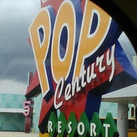 Photo taken at Disney's Pop Century Resort by Nikki R. on 9/15/2012