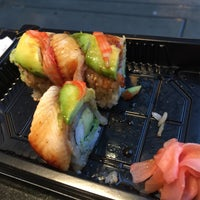 Photo taken at Osaka Sushi Express & Fresh Fruit Smoothies by Todd W. on 4/3/2017