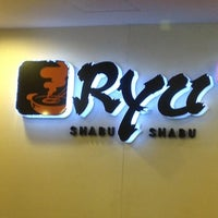 Photo taken at Ryu Shabu-Shabu by Rizal W. on 1/12/2013