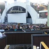 Photo taken at The Hollywood Bowl by Jessenia M. on 7/14/2013