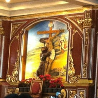 Photo taken at St. Francis of Assisi Parish Church by Johanna S. on 12/25/2012