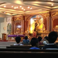 Photo taken at St. Francis of Assisi Parish Church by Johanna S. on 2/17/2013