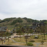 Photo taken at InterContinental Hotels Alpensia Pyeongchang Resort by Tama J. on 5/18/2013