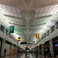 Photo taken at Washington Dulles International Airport (IAD) by Moataz T. on 6/7/2013