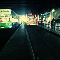 Photo taken at Ayala Bus Stop (Northbound) by Gerard E. on 2/13/2013