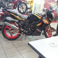 Photo taken at Super Racing Motorcycle Parts by Syam A. on 1/30/2013