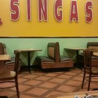 Photo taken at Singas Pizzas by Tirusha D. on 10/7/2015