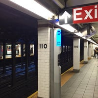 Photo taken at MTA Subway - Cathedral Pkwy/110th St (1) by Larry on 5/16/2016
