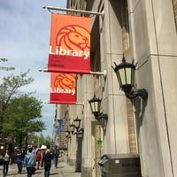 Photo taken at New York Public Library - Morningside Heights Library by Larry on 5/11/2016
