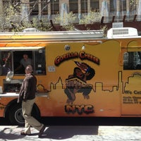 Photo taken at Gorilla Cheese Truck NYC by darryl o. on 4/9/2013