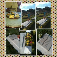 Photo taken at Bacolod Memorial Park, Bacolod City by tophe C. on 11/1/2012