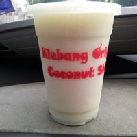Photo taken at Klebang Original Coconut Milk Shake by Wan Haslina S. on 6/5/2013