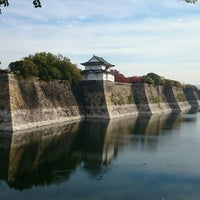 Photo taken at 大阪城公園レストハウス by Tianyi C. on 11/16/2014