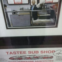 Photo taken at Tastee Sub Shop by Steven C. on 5/30/2013