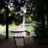 Photo taken at Parco Termale Villa dei Cedri by Tetyana &. on 7/14/2014