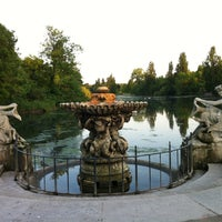 Photo taken at Kensington Gardens by Mona A. on 6/6/2013