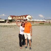 Photo taken at Пляж DOSTAR by Ivan G. on 7/13/2013