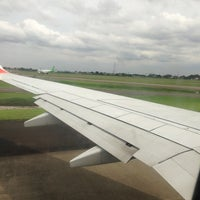 Photo taken at JT378 CGK-BTH / Lion Air by Lyndee L. on 1/2/2013