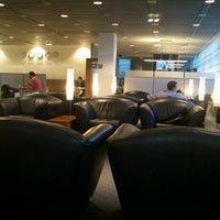 Photo taken at Lufthansa Business Lounge by Aki K. on 3/8/2013