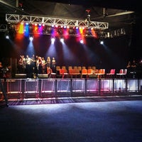 Photo taken at Vicar Street by Laura M. on 7/6/2013
