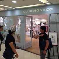 Photo taken at Club Monaco by Takeshi M. on 6/29/2014