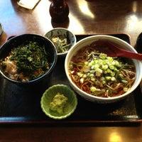 Photo taken at 定連 by Takeshi M. on 1/25/2013