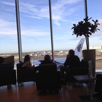 Photo taken at Malaysia Airlines Golden Lounge by Emily C. on 12/16/2012