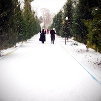 Photo taken at Центр Онкологии by Sheikhnaz . on 2/1/2014