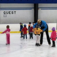 Photo taken at Clearwater Ice Arena by Kirsten G. on 4/16/2013