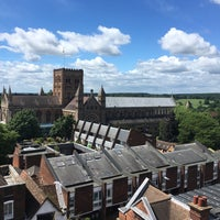 Photo taken at St Albans Clock Tower by Ivan V. on 6/4/2017