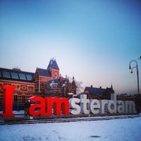 Photo taken at I amsterdam by Konstantin P. on 1/16/2013