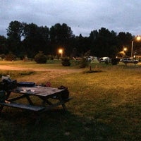 Photo taken at Puntledge RV Campground by Yan L. on 6/22/2013