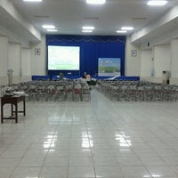 Photo taken at Gedung Ardhyaloka Halim PK by bowo w. on 10/19/2012