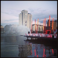 Photo taken at Grand Canal Dock by Lena on 5/10/2013