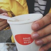Photo taken at Soup en Zo by Victoria W. on 4/23/2013