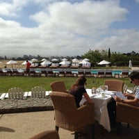 Photo taken at The Hilltop Dining Room at The Carneros Inn by Teresa A. on 6/15/2013