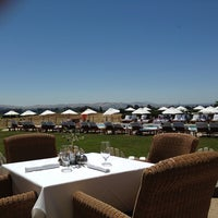 Photo taken at The Hilltop Dining Room at The Carneros Inn by Teresa A. on 6/16/2013
