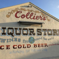 Photo taken at Colliers Liquor Store by Tim F. on 10/15/2017