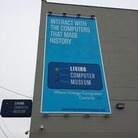 Photo prise au Living Computer Museum par dan s. le5/3/2013