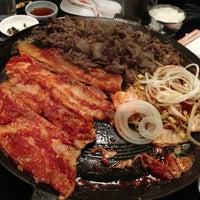 Photo taken at Honey Pig Gooldaegee Korean Grill by Thomas on 12/27/2012