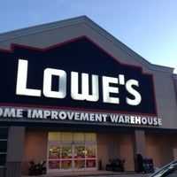 Photo taken at Lowe's Home Improvement by Thomas on 2/15/2013