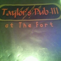 Photo taken at Taylor's Pub III by Brandon A. on 10/24/2012
